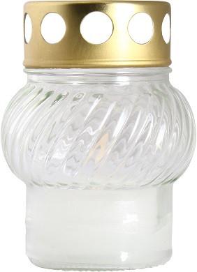 Свеча лампадка прозрачная в стекле