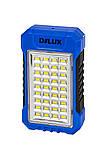 Светильник светодиодный аварийный DELUX REL 101 (4V2.4Ah) 36 LED 4W 69x37x125, фото 3
