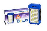 Светильник светодиодный аварийный DELUX REL 101 (4V2.4Ah) 36 LED 4W 69x37x125, фото 8