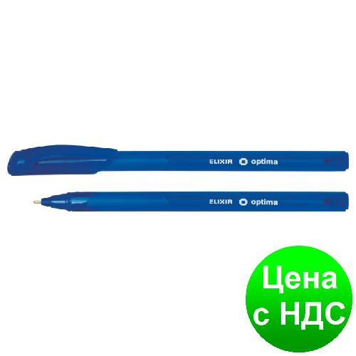 Ручка шариковая OPTIMA ELIXIR 1,0 мм, пишет синим O15653-02