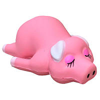 Мягкая игрушка антистресс Сквиши Squishy Свинка Розовая №54