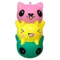 Мягкая игрушка антистресс Сквиши Котики Squishy с запахом №48