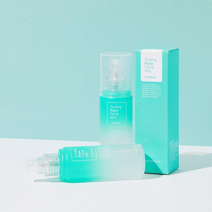 Увлажняющий и охлаждающий мист для лица COSRX Cooling Aqua Facial Mist 80 мл