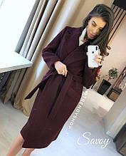 Удлиненное красивое пальто