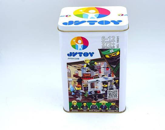 Конструктор JVToy, Герои ниндзя, Ограбление киоска, 272 деталей (16001), фото 2