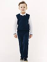 Жилет для мальчика, ТМ Смил, 116420, возраст 6 - 10 лет