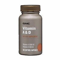 Витамины GNC VIT A&D 100 caps