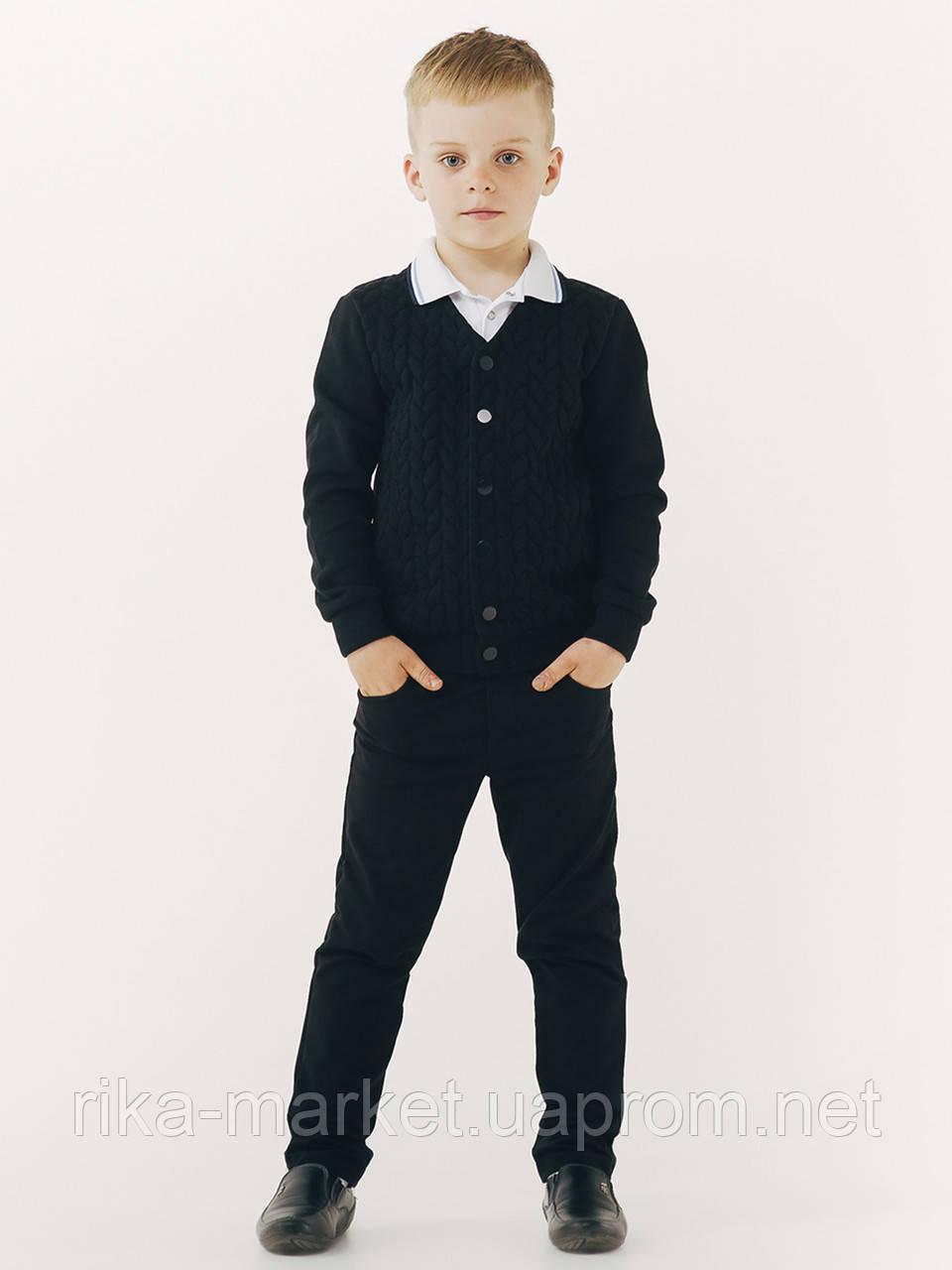 Школьный пиджак для мальчика, ТМ Смил, 116418, возраст 12 - 14 лет