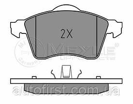 Meyle 025 218 8319 Колодки тормозные передние Volkswagen T-4