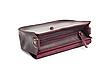 Міні-сумка жіноча з натуральної шкіри Goose™ G0024 марсала (ручна робота), фото 4