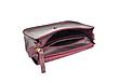 Міні-сумка жіноча з натуральної шкіри Goose™ G0024 марсала (ручна робота), фото 5