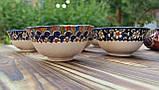 """Узбекская пиала """"АНОР""""  ручной работы ~200 мл, d 11 см. Керамика, фото 2"""