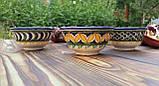 Узбекская пиала ручной работы ~100 мл, d 9 см. Керамика, фото 3