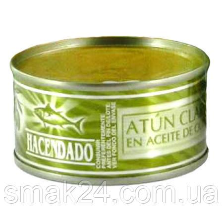 Тунец в оливковом масле Hacendado Atun Claro en Aceite de Oliva 80 г  Испания