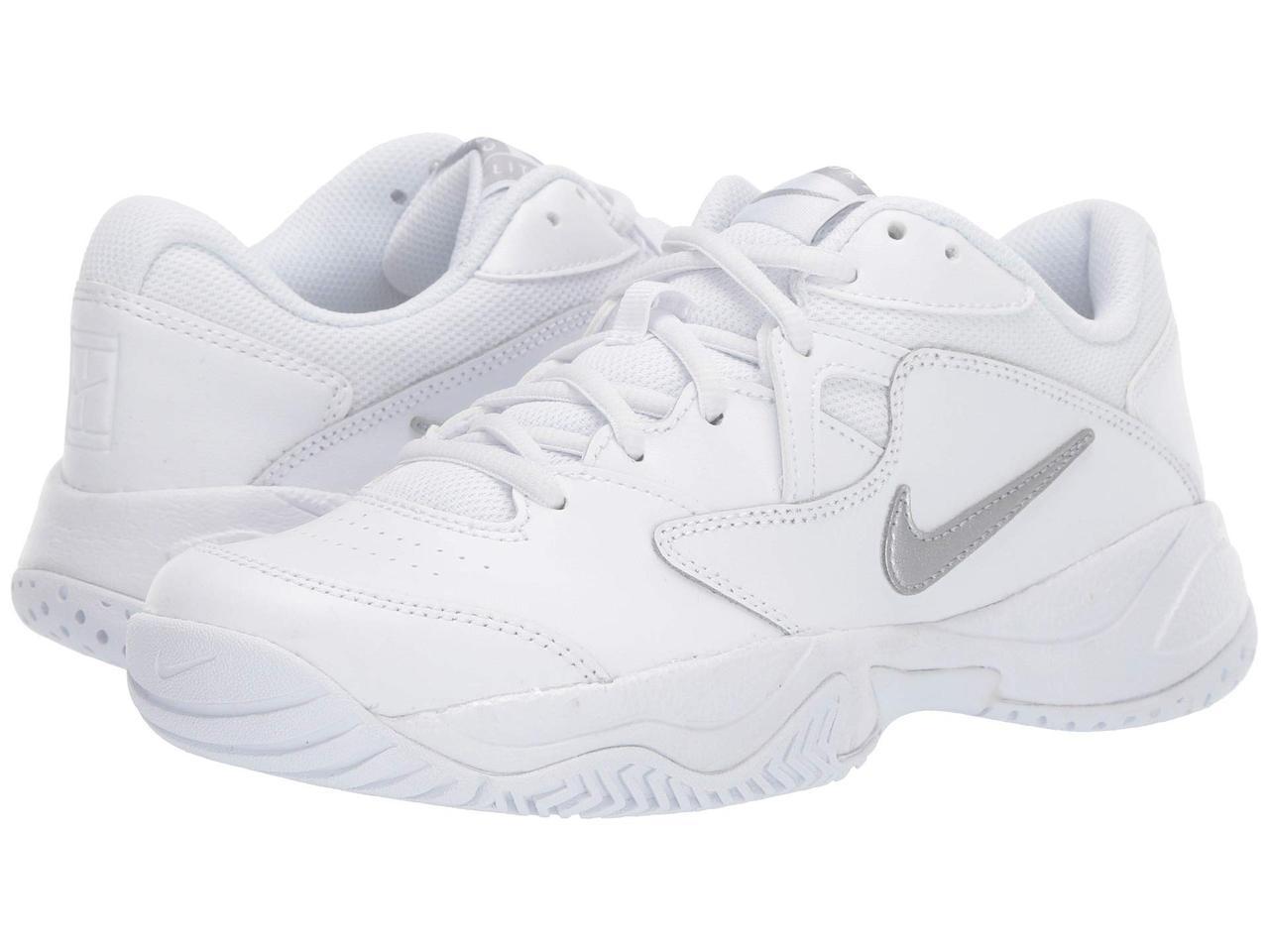 Кроссовки/Кеды (Оригинал) Nike Court Lite 2 White/Metallic Silver/White