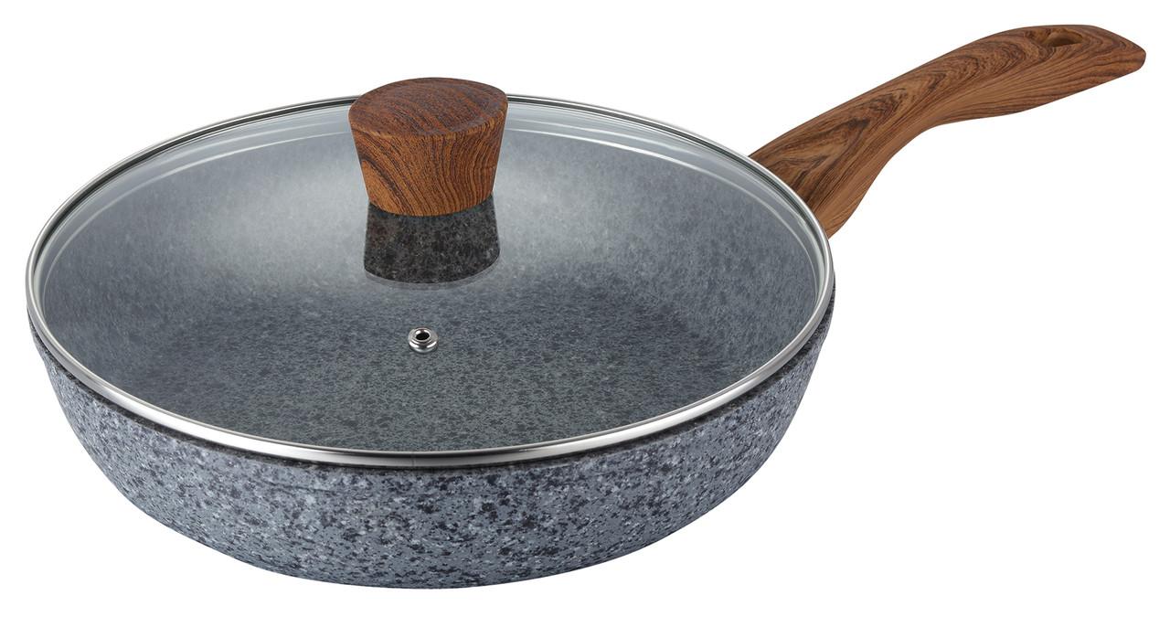 Сковорода с антипригарным покрытием MAXMARK MK-FP 4526G