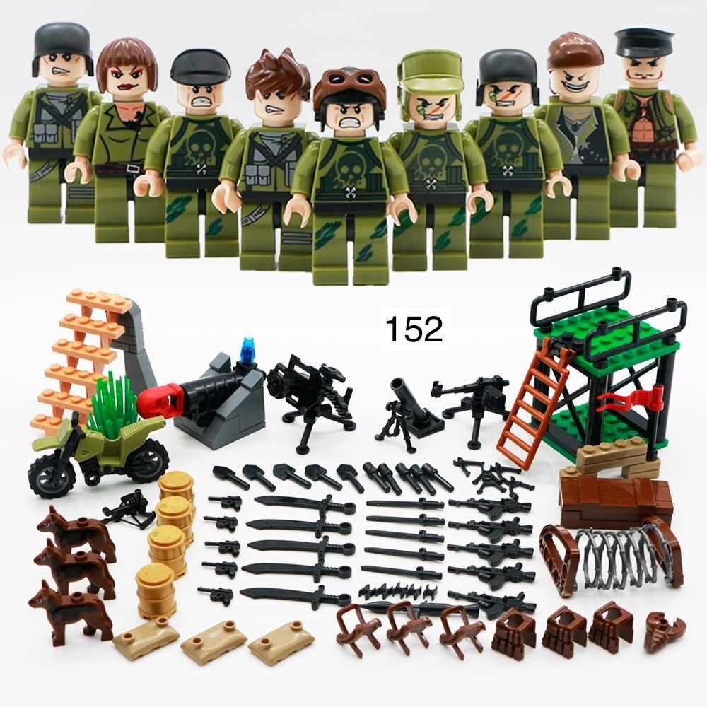 Фигурки SWAT спецназ военнослужащие армия лего Lego BrickArms
