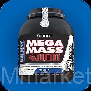 Гейнер WEIDER MEGA MASS 4000, 7 кг