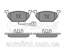 Meyle 025 231 3119/W Колодки тормозные передние Volkswagen Caddy