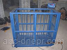 Ваги для зважування тварин 500 кг