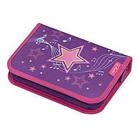 50020805M Пенал пустой Herlitz Standard Melody Star Звезда