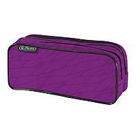 10679710P Пенал Herlitz Double Wild Print Purple пурпурный