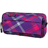 11281698 Пенал Herlitz Pockets Check Pink фиолетовый