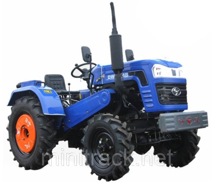 Трактор DW 244 B, (24л.с., 4х4, 1 цил., 2-е сц.)