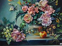 """Картина """"Натюрморт с розами"""", фото 1"""