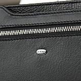 Большой мужской кожаный кошелек DR. BOND черного цвета, фото 2