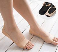 Капроновые носочки следки с защитой от натирания