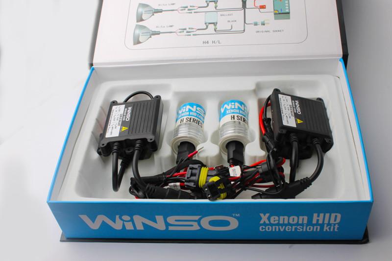Ксеноновые лампы H3 WINSO XENON SET 6000K 35W 85V (KET), комплект