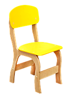 Стул детский «Фантазия» – спинка и сиденье из крашеной гнуто-клееной фанеры