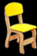 Стул детский фанерный «Фантазия» – спинка и сиденье из крашеной гнуто-клееной фанеры № 2