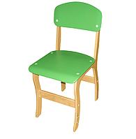 Стул детский фанерный «Фантазия» – спинка и сиденье из крашеной гнуто-клееной фанеры № 3, фото 1
