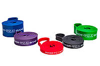 Эспандер-петля (резинка для фитнеса и спорта) 4FIZJO Power Band 5 шт 6-46 кг 4FJ0001