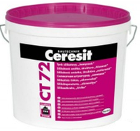 "Штукатурка Ceresit CT 72 (Церезит) силикатная декоративная ""камешковая"" база, зерно (2,5мм ) 25кг"