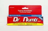Крем с Лидокаином 5%, Dr.Numb (красный), 30 гр.