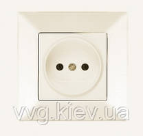 Розетка без заземления белая VIKO Carmen  купить по самой доступной ... 913aa971ca2