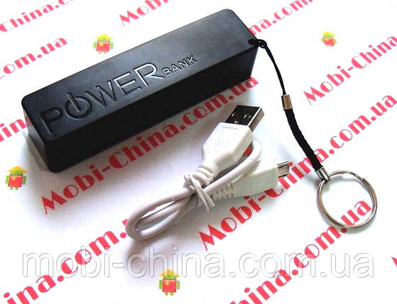 Универсальная мобильная батарея  (power bank, mobile power) 5A, 2600 mAh, фото 2