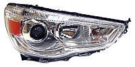 Фара правая Mitsubishi ASX (дорестайл) 2010 - 2013, электр., галоген + сервопривод, (TYC, 20-F045-05-2B) - шт.
