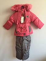 Детский зимний комбинезон девочка, фото 1