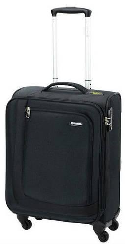 Тканевый практичный надежный чемодан 41/48 л. Carlton Clifton 901J455;01 черный