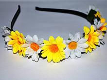 Ободок для волос с цветами (от 1 шт)