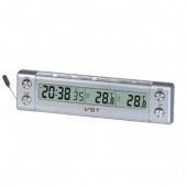 Авточасы VST 7037 + термометр + вольтметр
