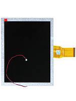 "Дисплей (LCD) 8"", 50pin (p/n:HL08009 C25 XY) Prestigio PMP5080B / PMP5080PRO, PMP5080CPRO"