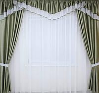 Комплекты шторы и ламбрекен