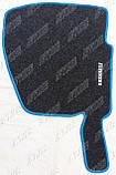 Renault Premium 2000 - ворсові килимки (сірий-синій) ЛЮКС, фото 4