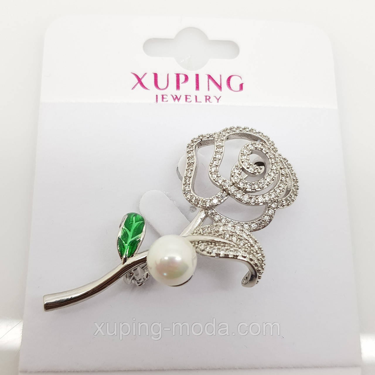 Брошка xuping, брошка для одежды в виде розы