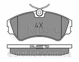 Meyle 025 201 2419 Колодки тормозные передние Volkswagen T-4